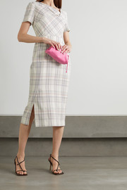 Roland Mouret Darland checked crepe dress