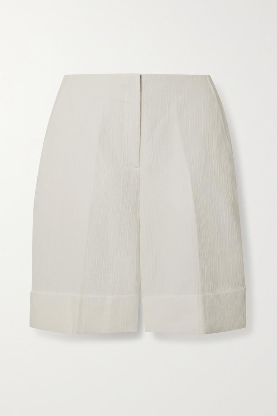 King & Tuckfield + NET SUSTAIN organic jacquard shorts