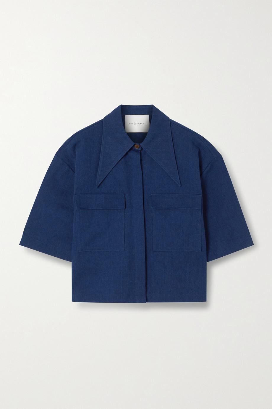 King & Tuckfield Denim shirt