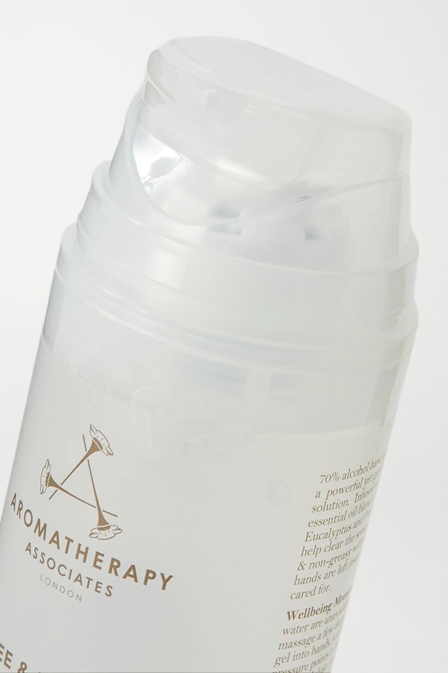 """Aromatherapy Associates Nettoyant sans rinçage pour les mains à l'arbre à thé et à l""""eucalyptus, 2 x 100 ml"""