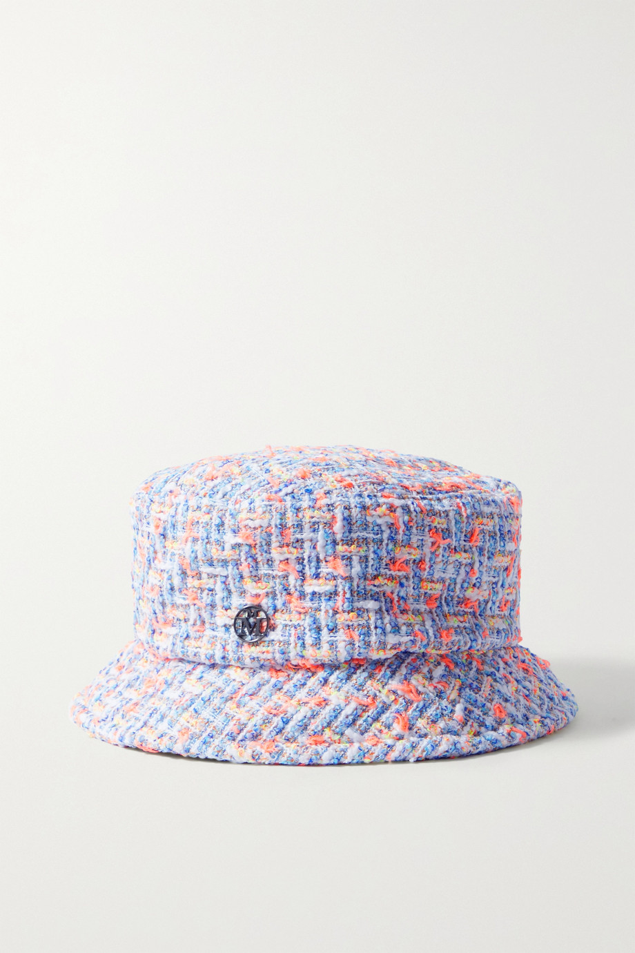 Maison Michel Axel cotton-blend tweed bucket hat