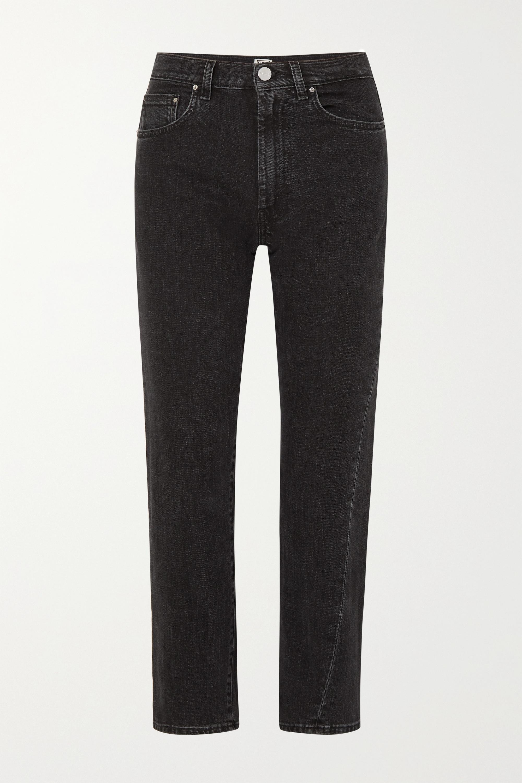 Totême Original high-rise straight-leg jeans