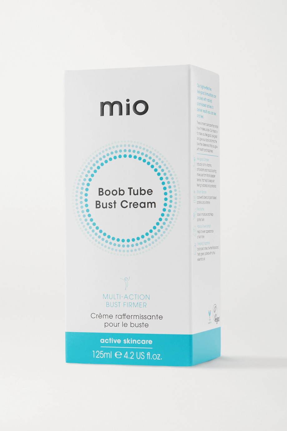 Mio Boob Tube Bust Tightening Cream, 125 ml – Straffende Brustcreme