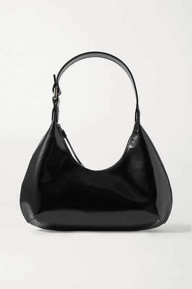 By Far Amber Bag In Black