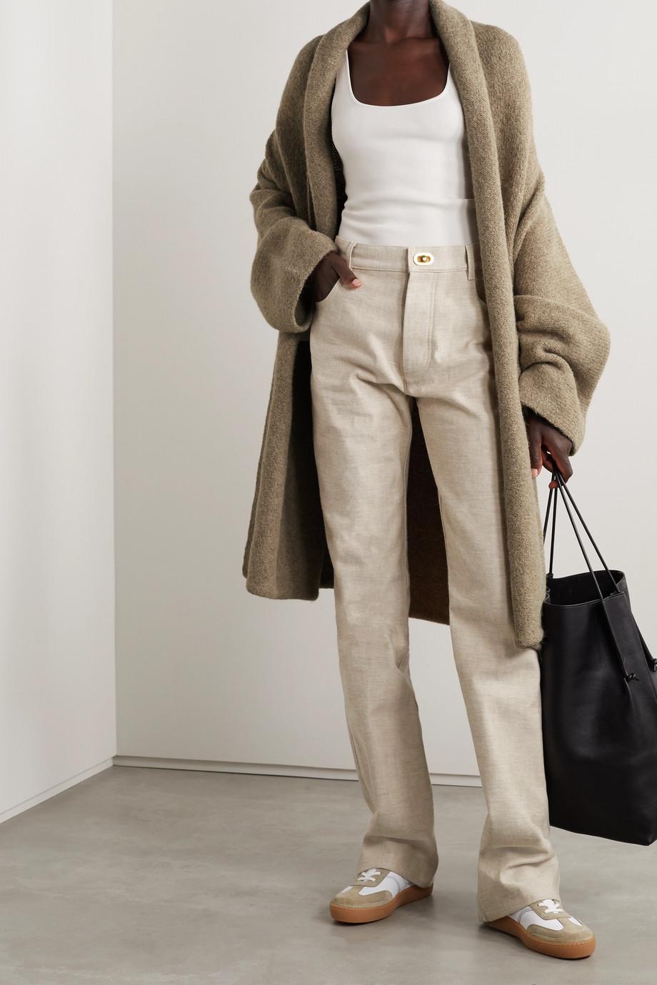 Lauren Manoogian Capote hooded alpaca-blend coat