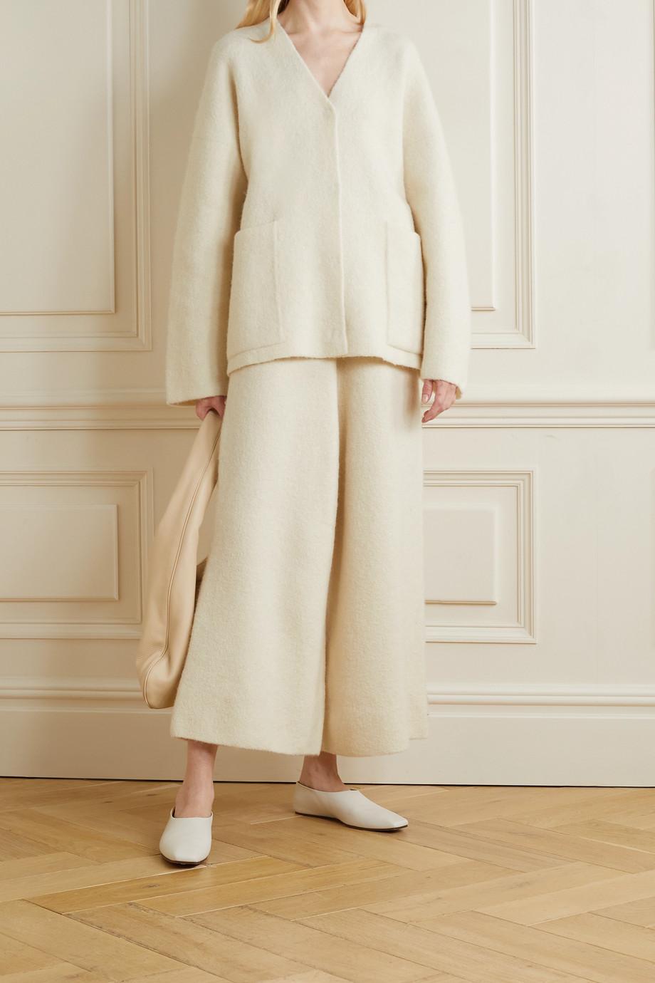 Lauren Manoogian Knitted wide-leg pants