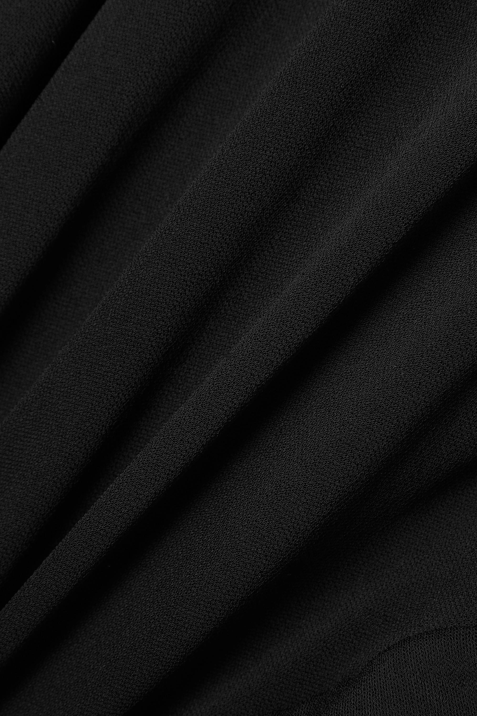 Alexandre Vauthier Asymmetric ruched crepe dress