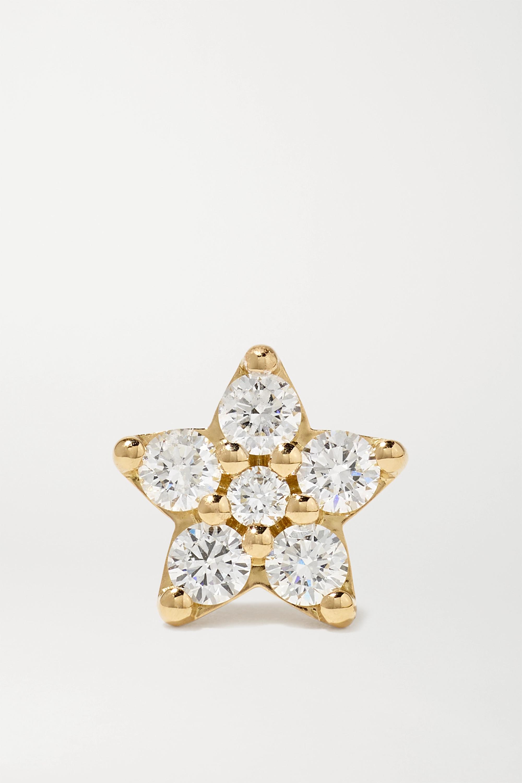 OLE LYNGGAARD COPENHAGEN Shooting Stars Ohrring aus 18 Karat Gold mit mehreren Steinen