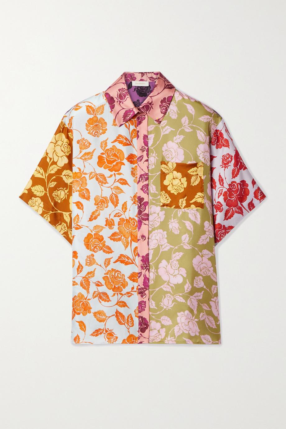 Zimmermann The Lovestruck floral-print silk-twill shirt