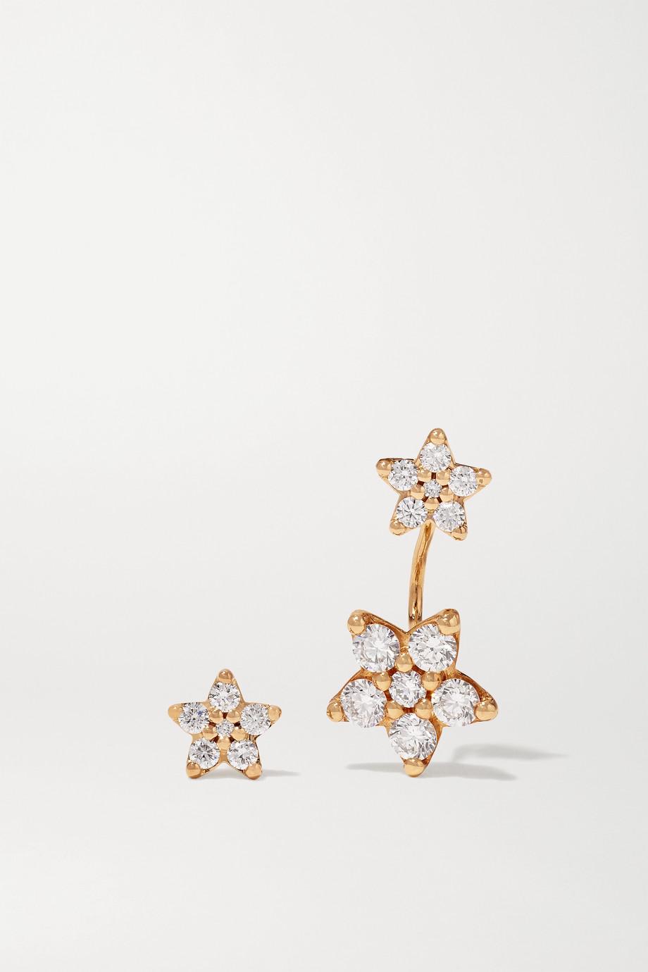 OLE LYNGGAARD COPENHAGEN Shooting Stars 18-karat gold diamond earrings
