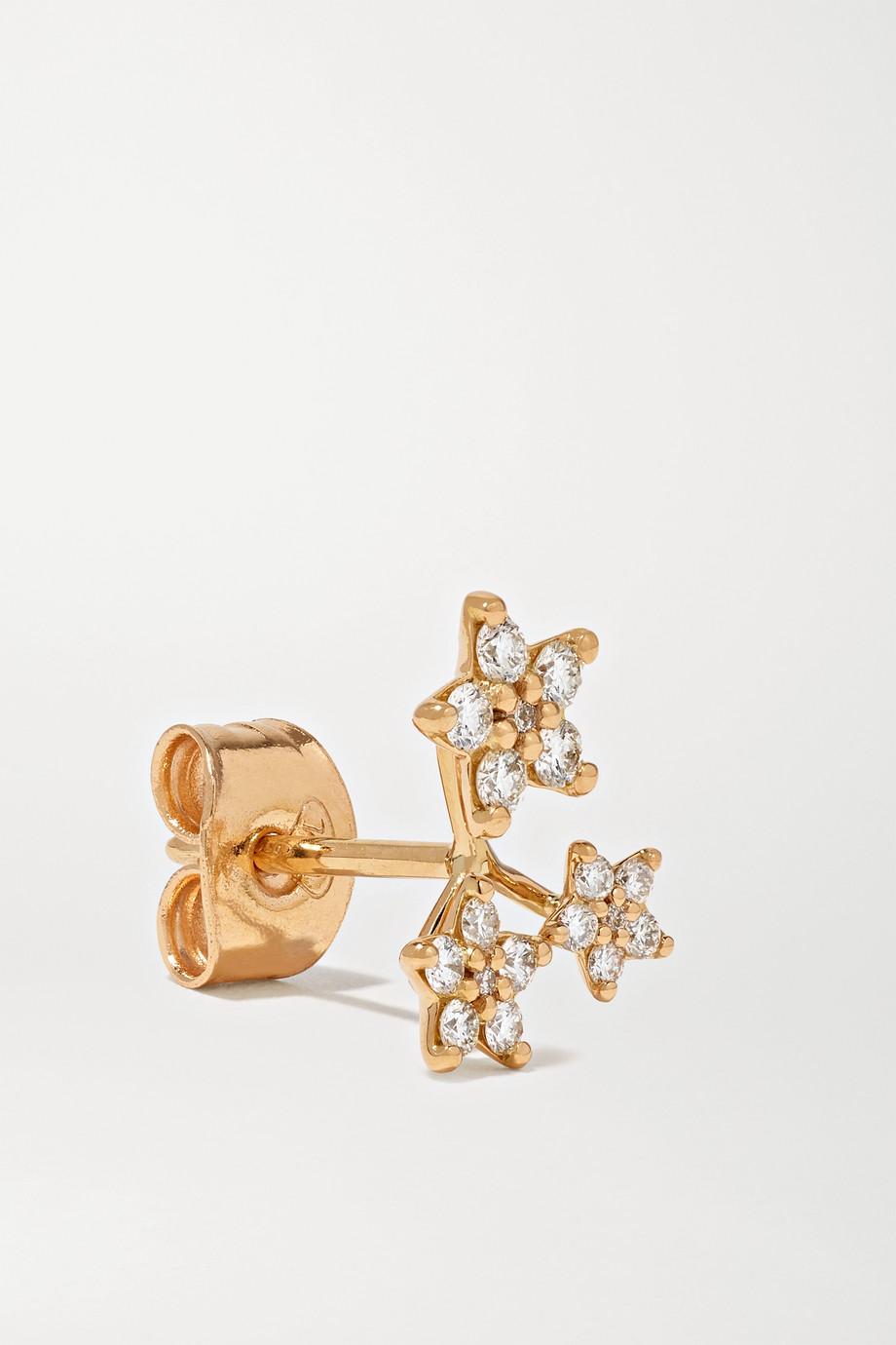 OLE LYNGGAARD COPENHAGEN Shooting Stars 18-karat gold diamond earring
