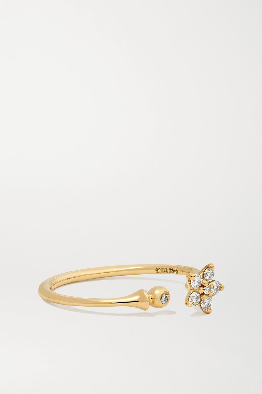 OLE LYNGGAARD COPENHAGEN Shooting Stars 18K 黄金钻石戒指