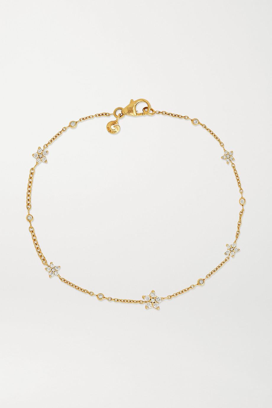 OLE LYNGGAARD COPENHAGEN Shooting Stars 18-karat gold diamond bracelet