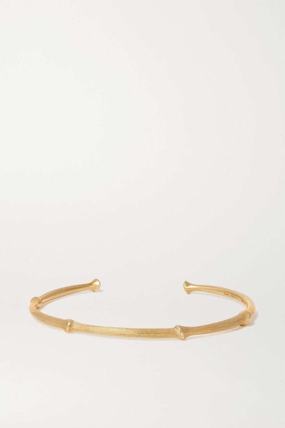 OLE LYNGGAARD COPENHAGEN Nature 18-karat gold cuff