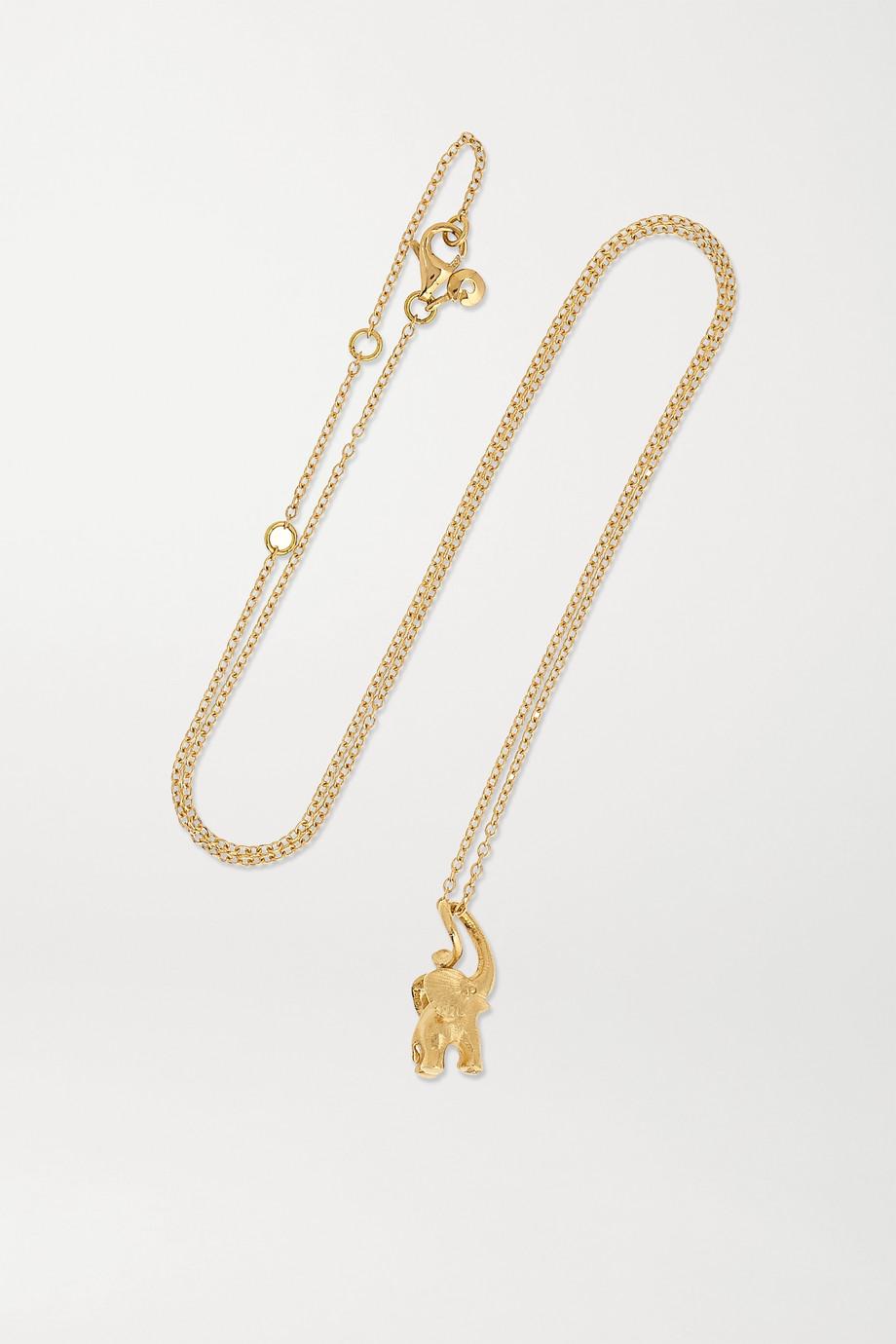 OLE LYNGGAARD COPENHAGEN My Little World 18-karat gold diamond necklace