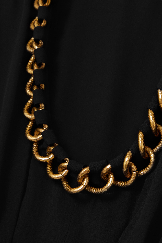 Givenchy Mini-robe en crêpe à chaîne
