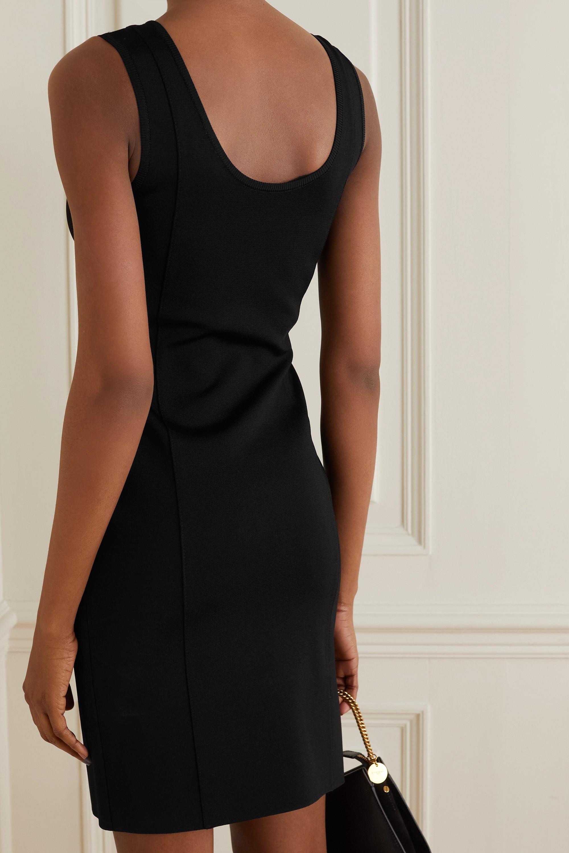 Givenchy Robe en crêpe stretch à découpe