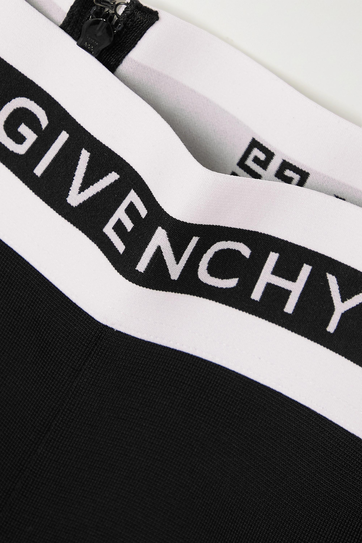Givenchy Legging en jersey à finitions en jacquard