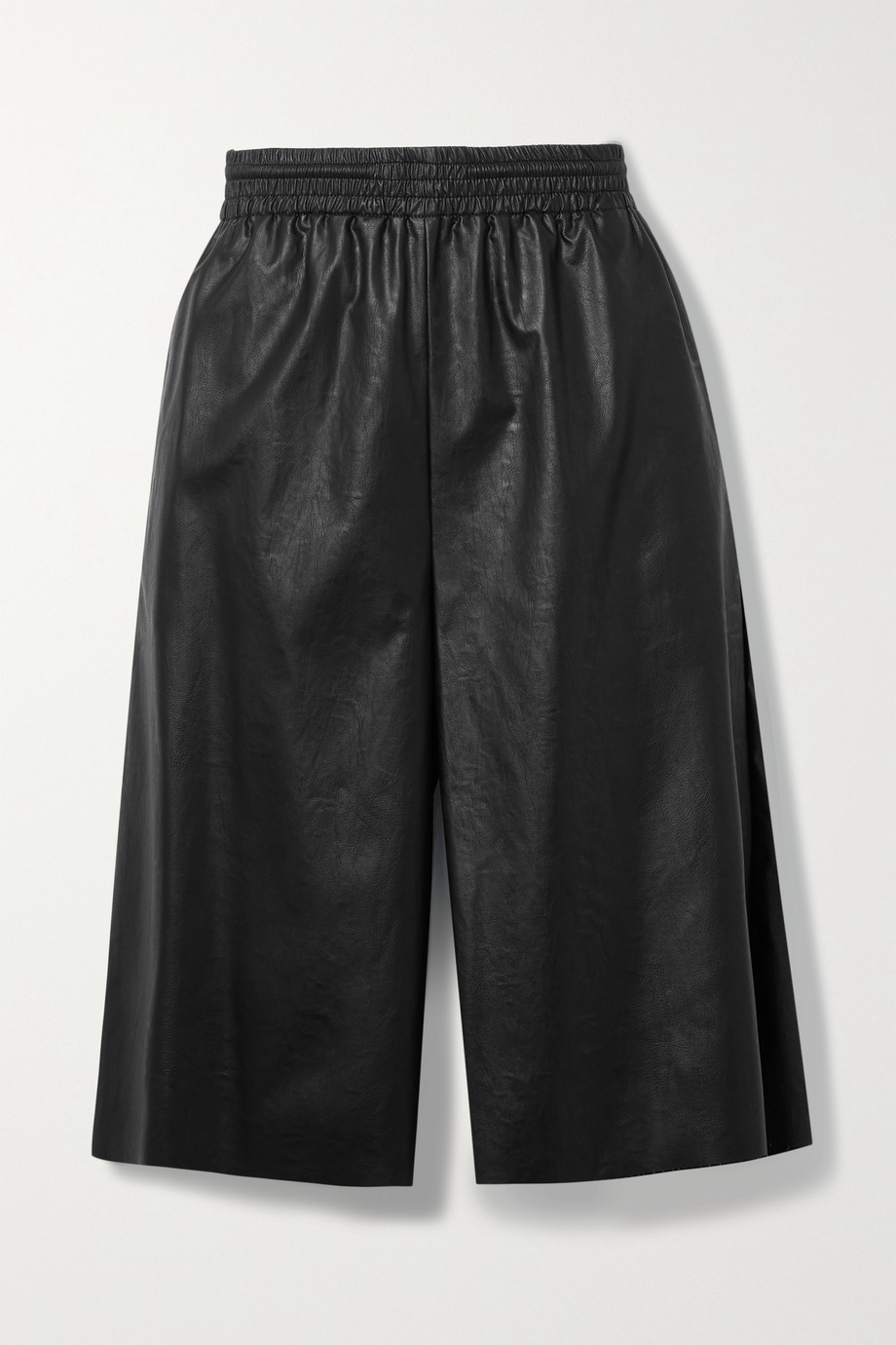 MM6 Maison Margiela Faux leather shorts
