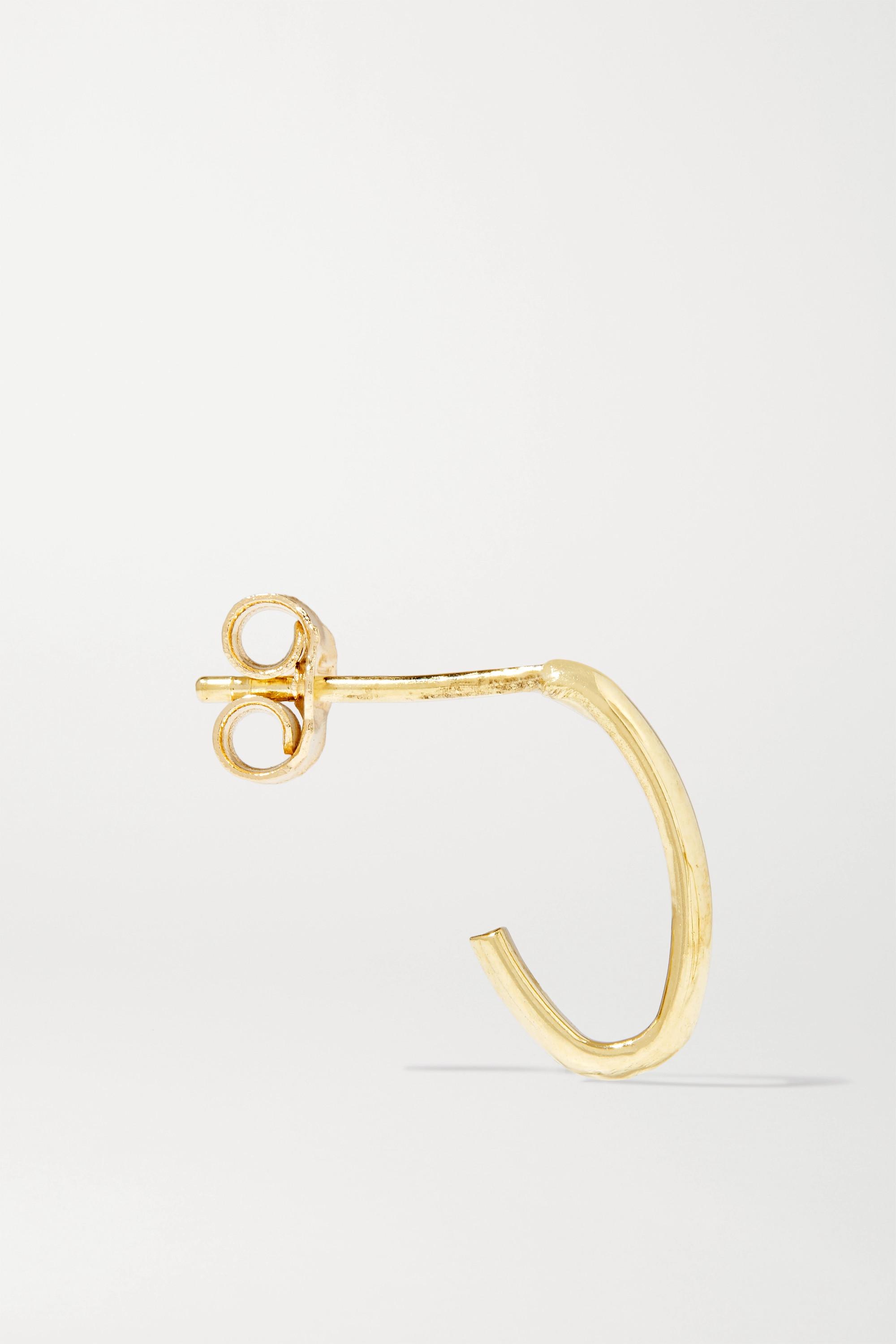 Jennifer Meyer Edith Link 18-karat gold earrings