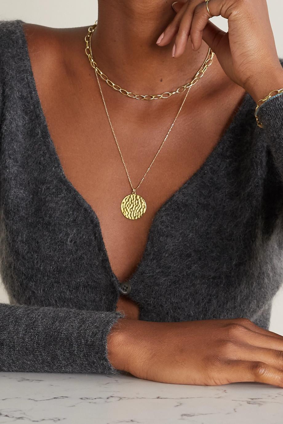 Jennifer Meyer Medium Edith 18-karat gold necklace