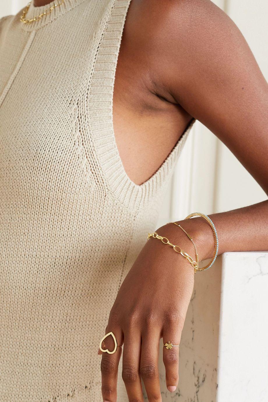 Jennifer Meyer Medium Edith 18-karat gold bracelet
