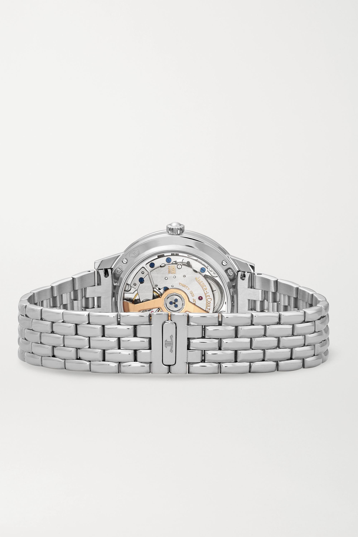Argenté Montre En Acier Inoxydable Et Diamants Rendez-vous Night & Day Medium 34 Mm | Jaeger-lecoultre