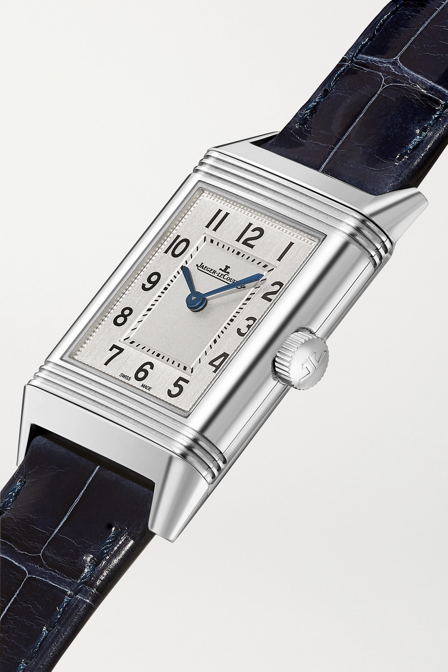 Jaeger-LeCoultre Reverso Classic Small 21mm stainless steel and alligator watch