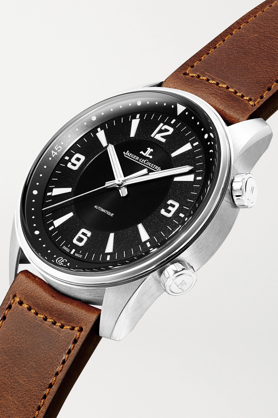 Jaeger-LeCoultre Polaris Automatic 41mm stainless steel and leather watch