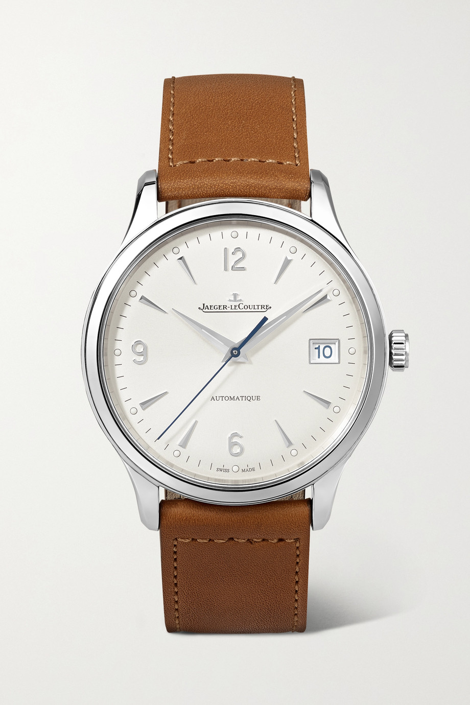 Jaeger-LeCoultre Master Control Date Automatic 40mm stainless steel and leather watch