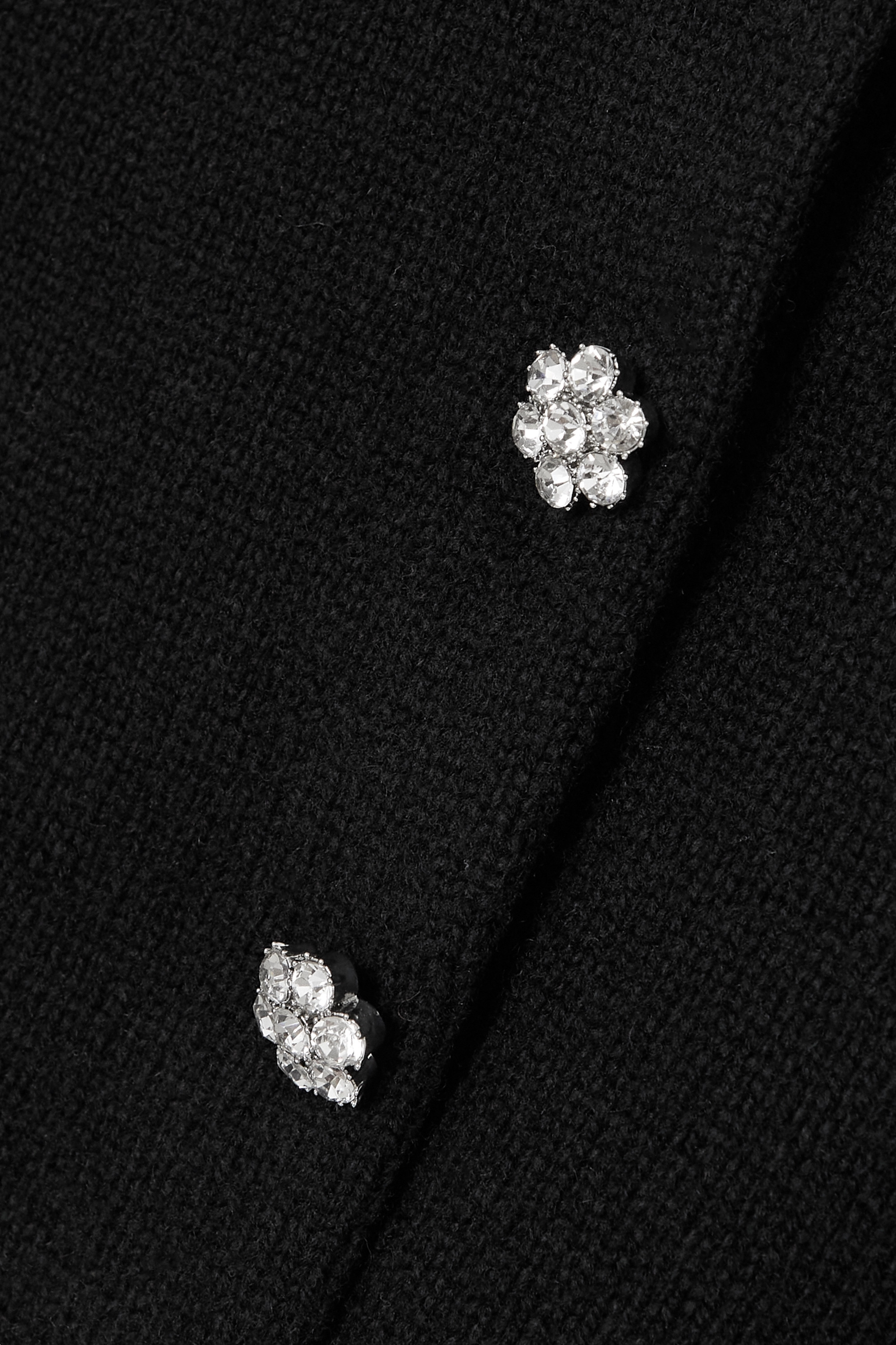 THE Marc Jacobs The Jeweled crystal-embellished wool-blend cardigan