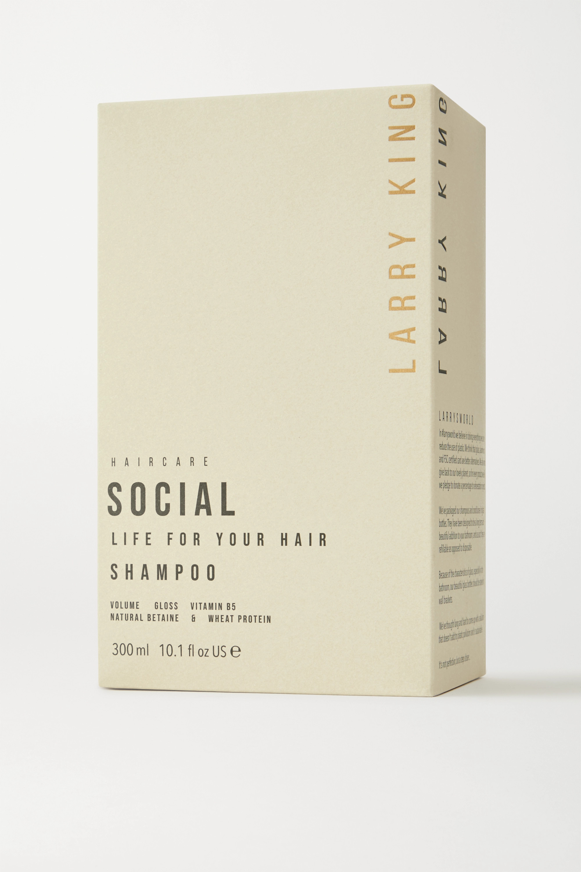 Larry King Social Life Shampoo, 300 ml – Shampoo