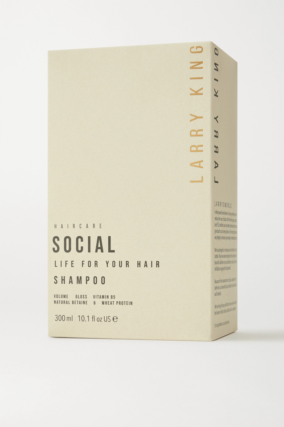 Larry King Social Life Shampoo, 300 ml – Shampoo