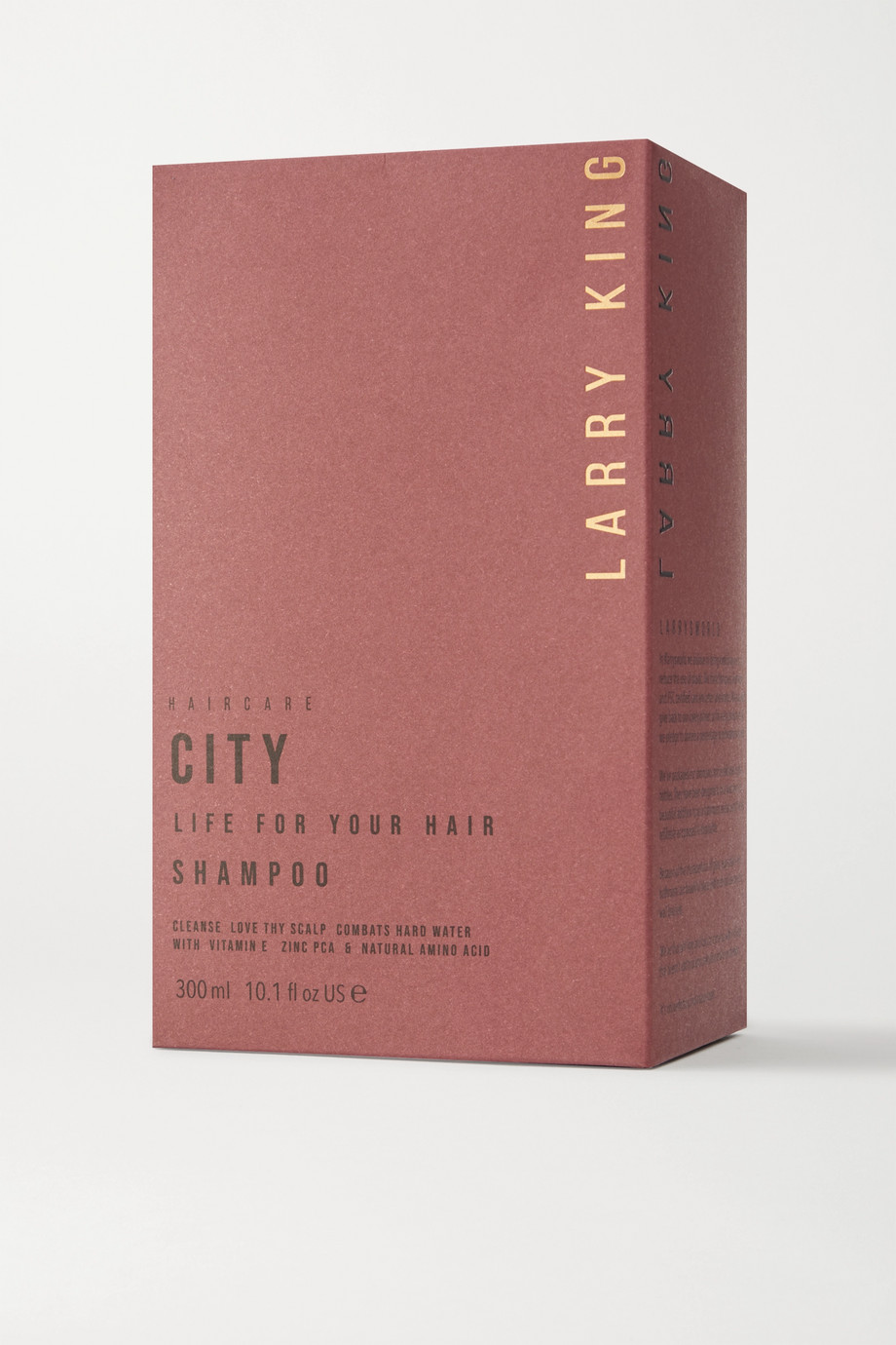 Larry King City Life Shampoo, 300 ml – Shampoo