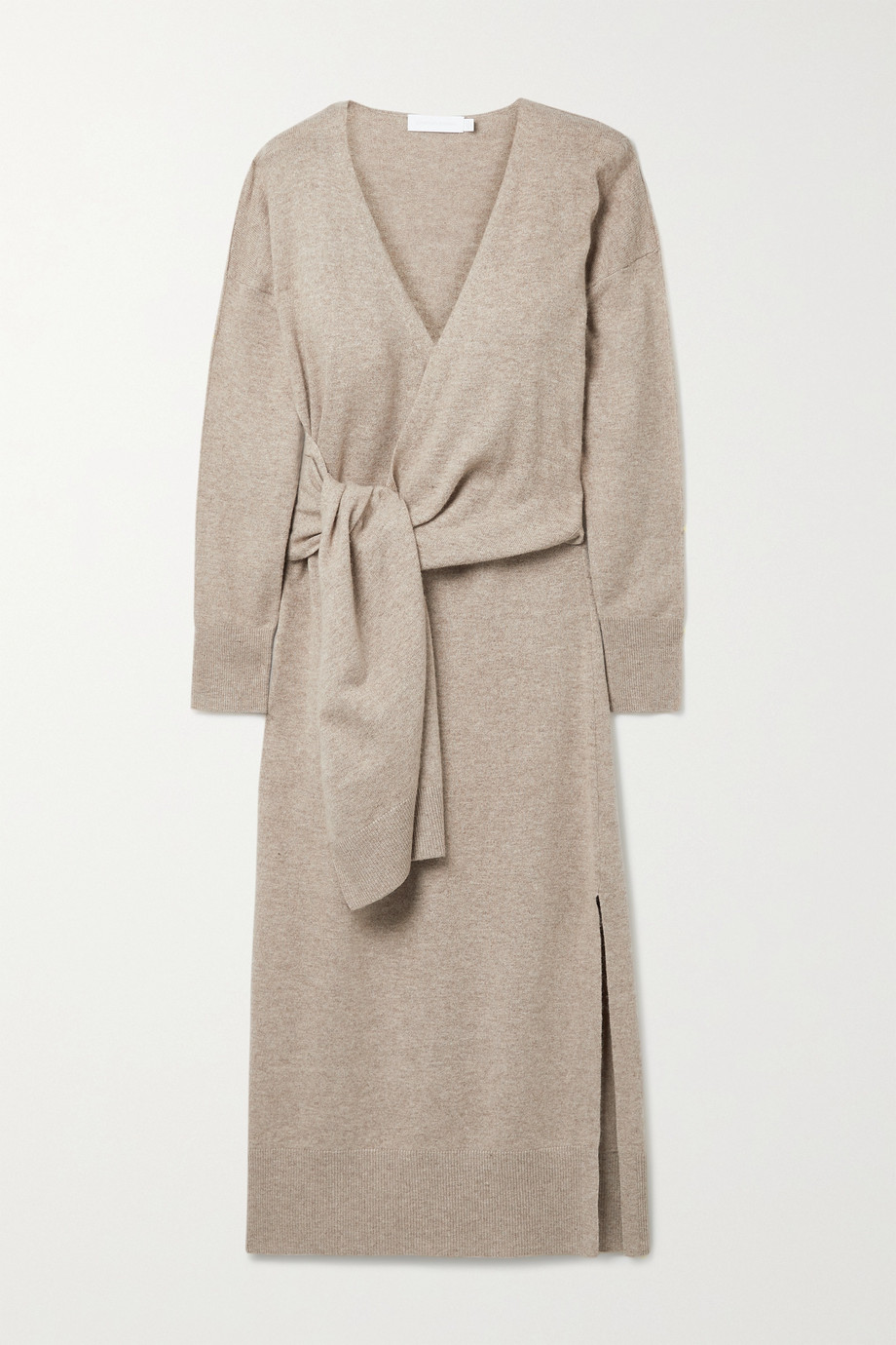 Jonathan Simkhai Skyla knitted wrap midi dress