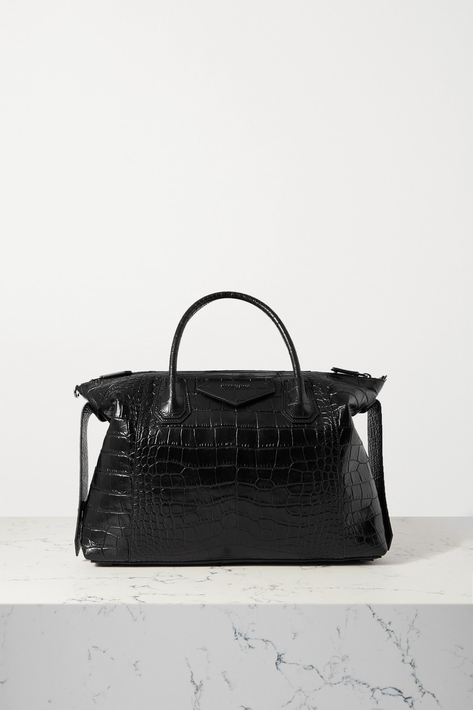 Givenchy Antigona Soft medium croc-effect leather tote
