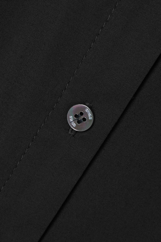 STAUD Joan cotton-blend poplin maxi dress