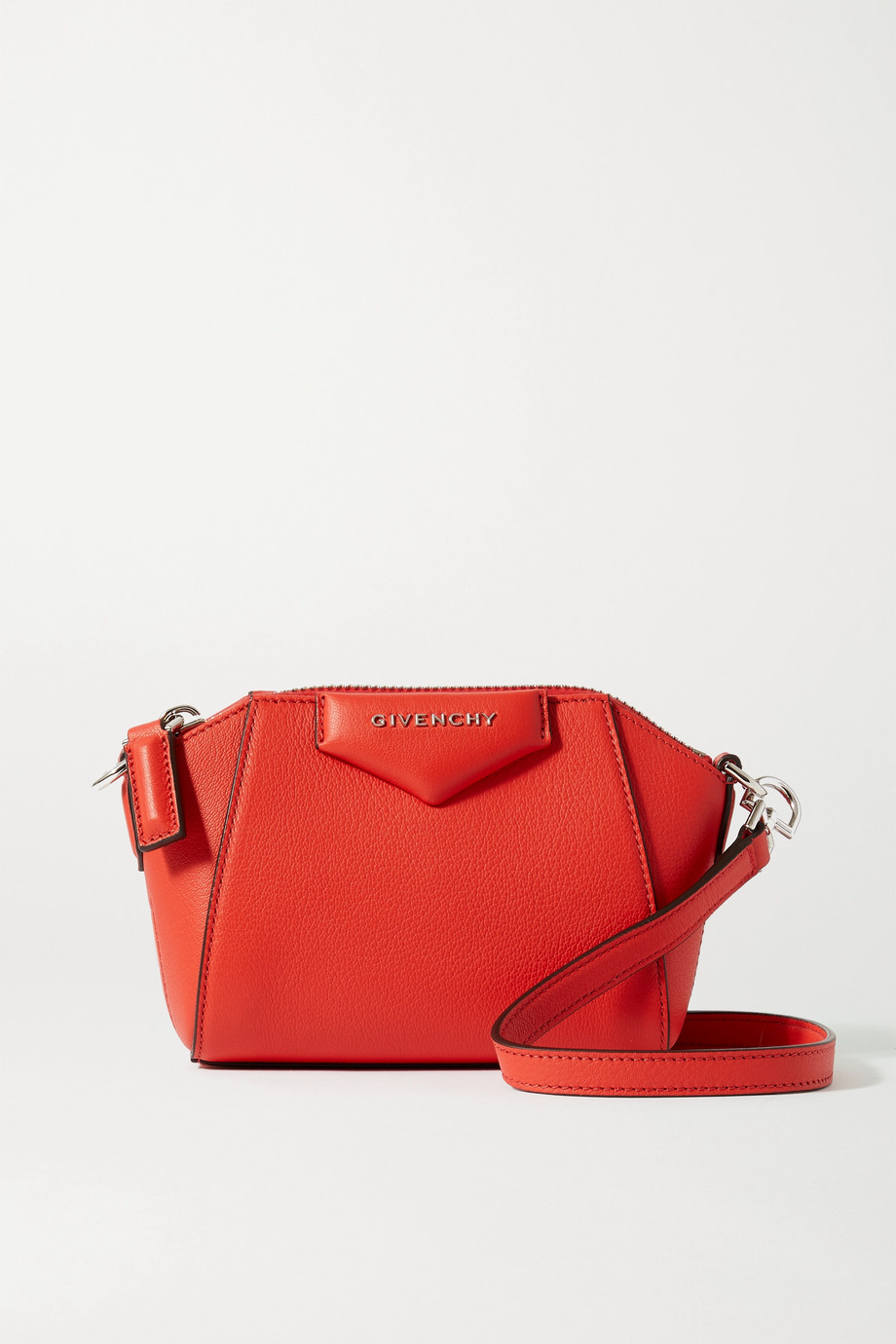 Givenchy Antigona nano textured-leather shoulder bag