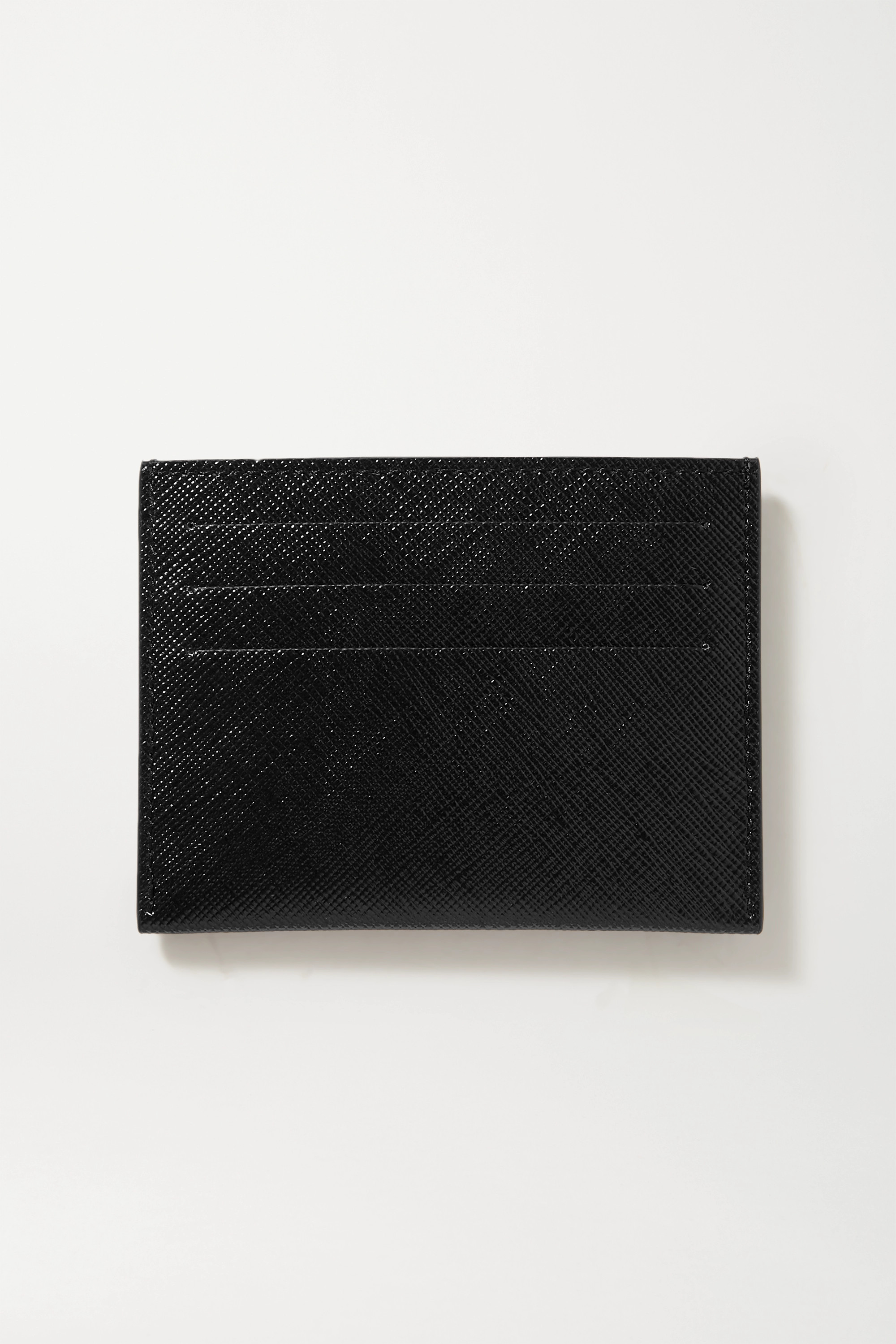 Givenchy Distressed printed coated-canvas cardholder