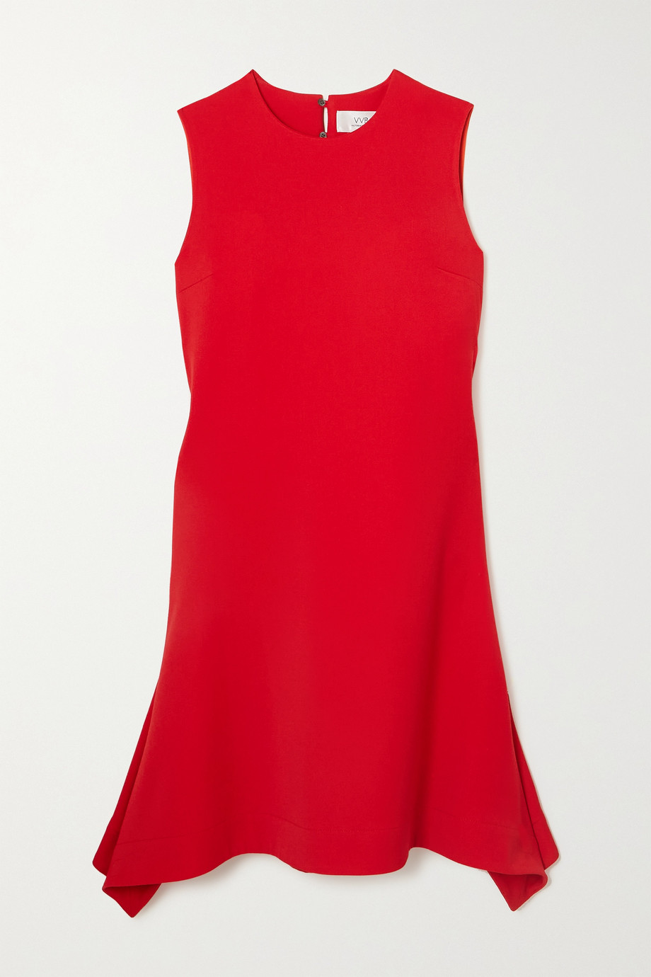 Victoria, Victoria Beckham Asymmetric draped crepe dress