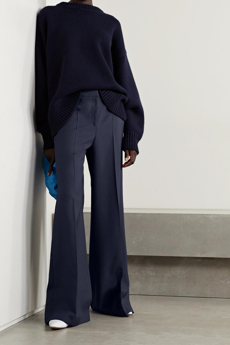 Victoria, Victoria Beckham Woven wide-leg pants