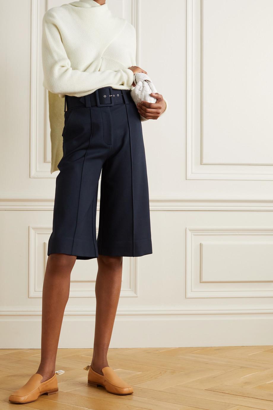 Victoria, Victoria Beckham 配腰带双罗纹裙裤