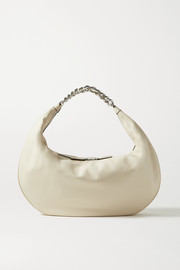 STAUD Sasha large leather shoulder bag