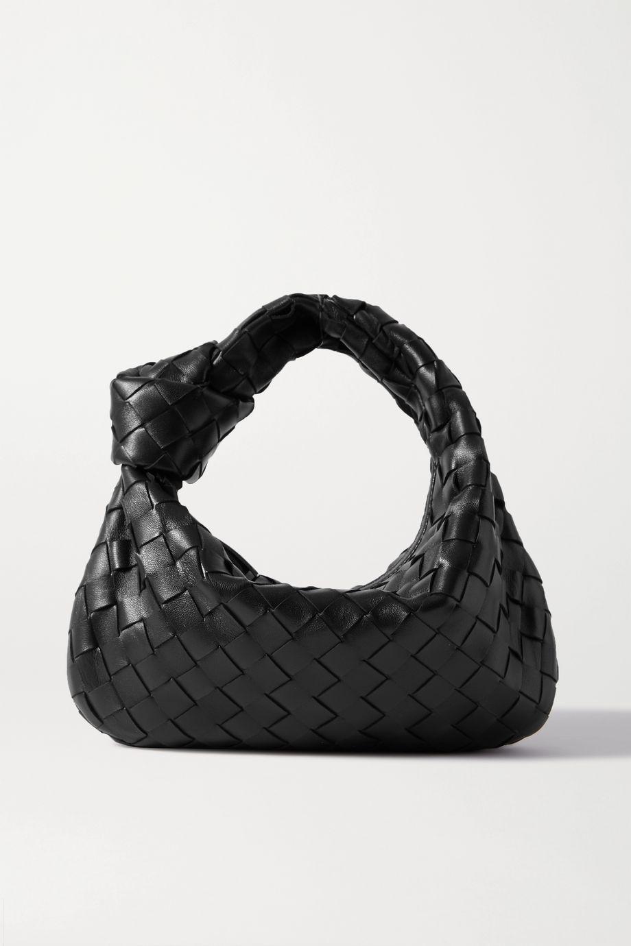 Bottega Veneta Jodie mini Tote aus strukturiertem Intrecciato-Leder mit Knoten
