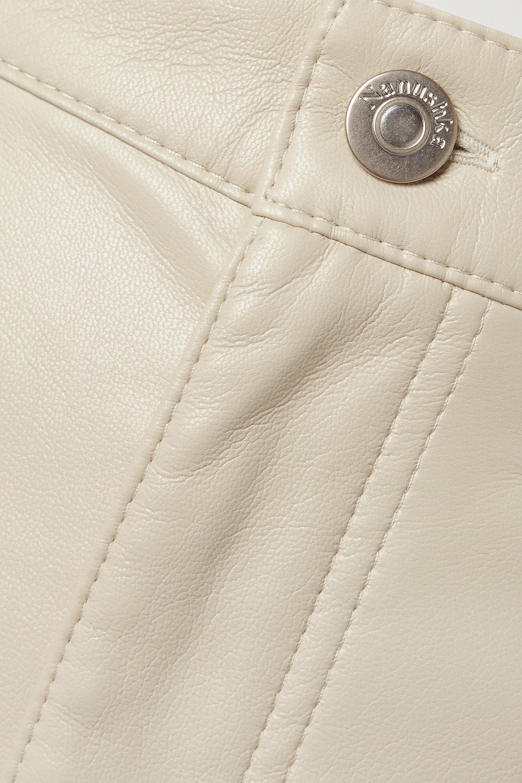 Nanushka Vinni cropped vegan leather pants