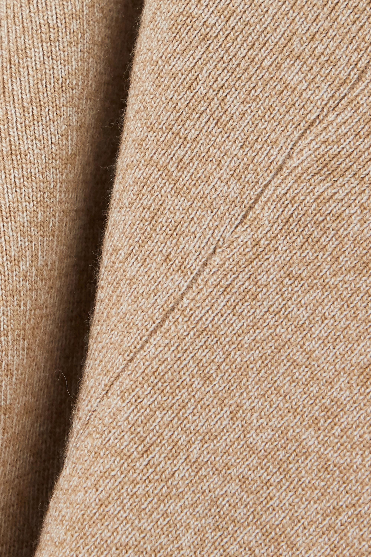 Nanushka + NET SUSTAIN Margo ribbed mélange wool-blend halterneck top