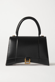 Balenciaga Hourglass medium glossed-leather tote