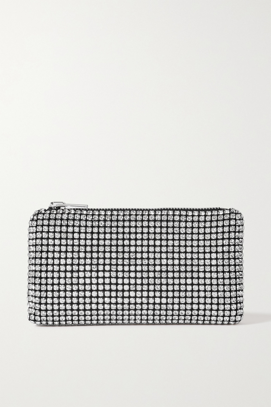 Alexander Wang Heiress crystal-embellished mesh clutch