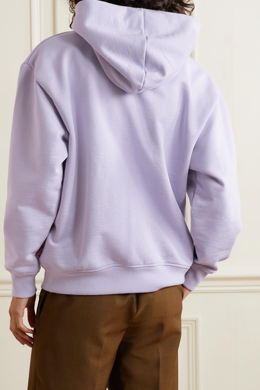 Acne Studios Sweat à capuche en jersey de coton biologique mélangé - NET SUSTAIN