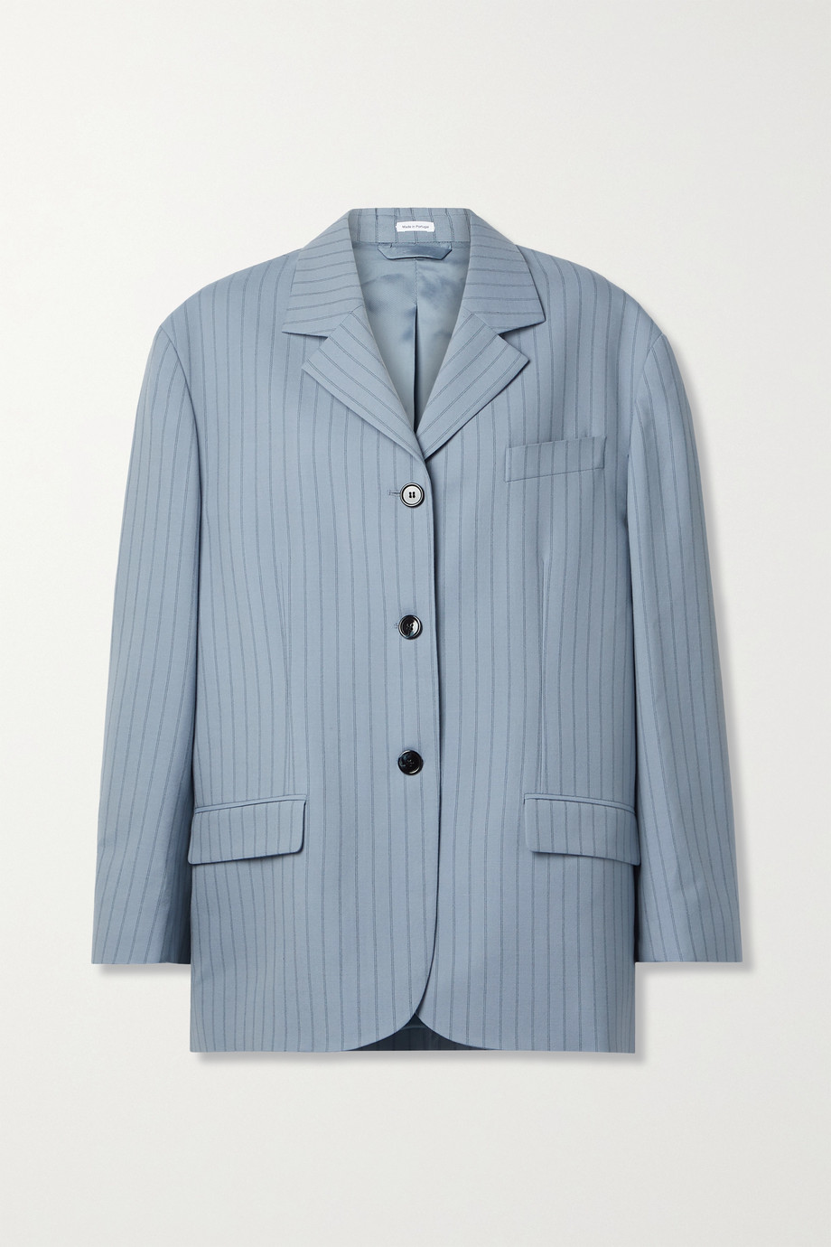 Acne Studios Oversized pinstriped wool blazer